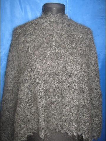 Пуховый палантин (арт. P-4010)