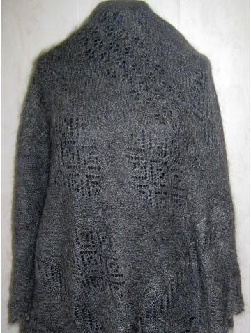 Пуховая шаль (P-2100)