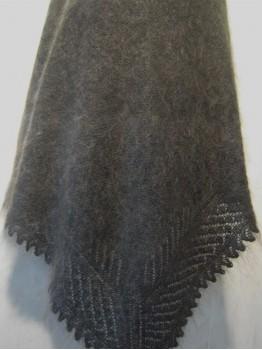 Пуховый платок-шаль (арт. P-3448)