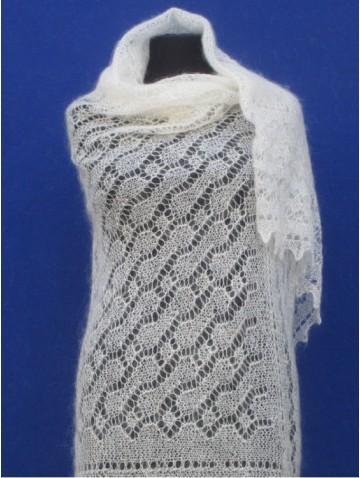 Ажурная пуховая паутинка (арт. P-1724)