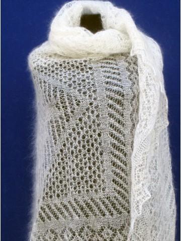 Ажурная пуховая паутинка (арт. P-3115)